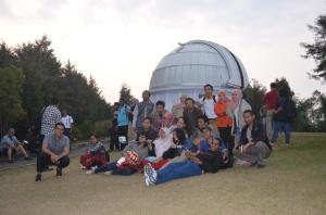 Visitng Observatorium Bosscha bersama dosma ITB dan UNPAD
